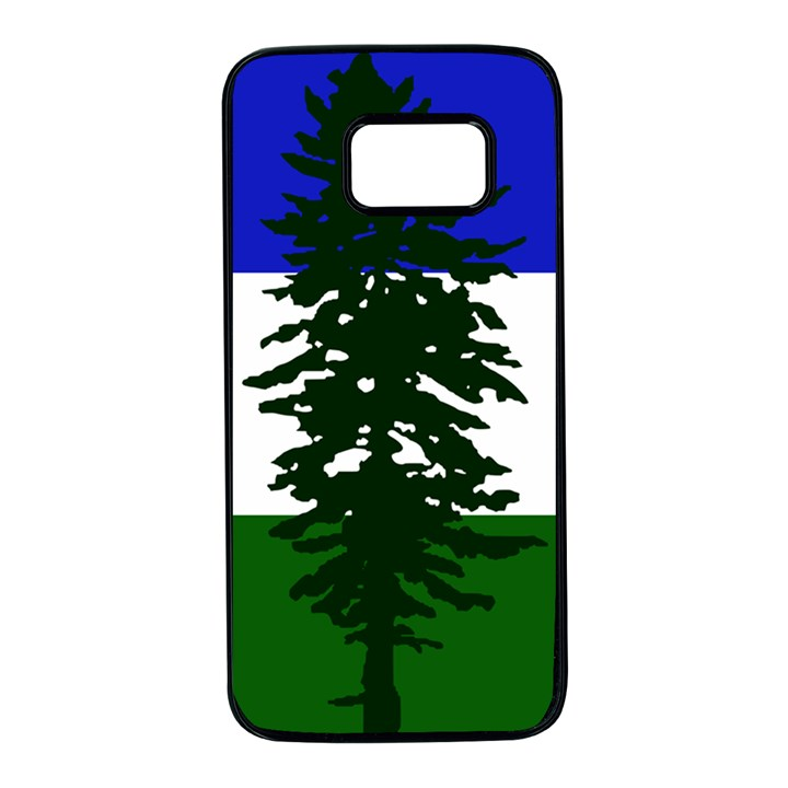 Flag of Cascadia Samsung Galaxy S7 Black Seamless Case