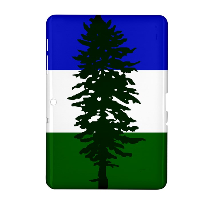 Flag of Cascadia Samsung Galaxy Tab 2 (10.1 ) P5100 Hardshell Case