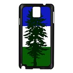 Flag of Cascadia Samsung Galaxy Note 3 N9005 Case (Black) Front