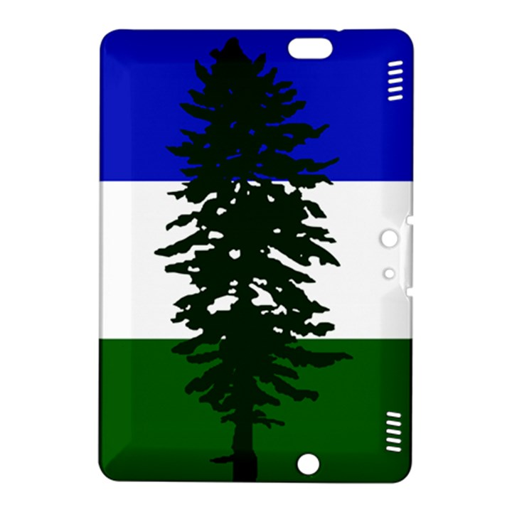 Flag of Cascadia Kindle Fire HDX 8.9  Hardshell Case