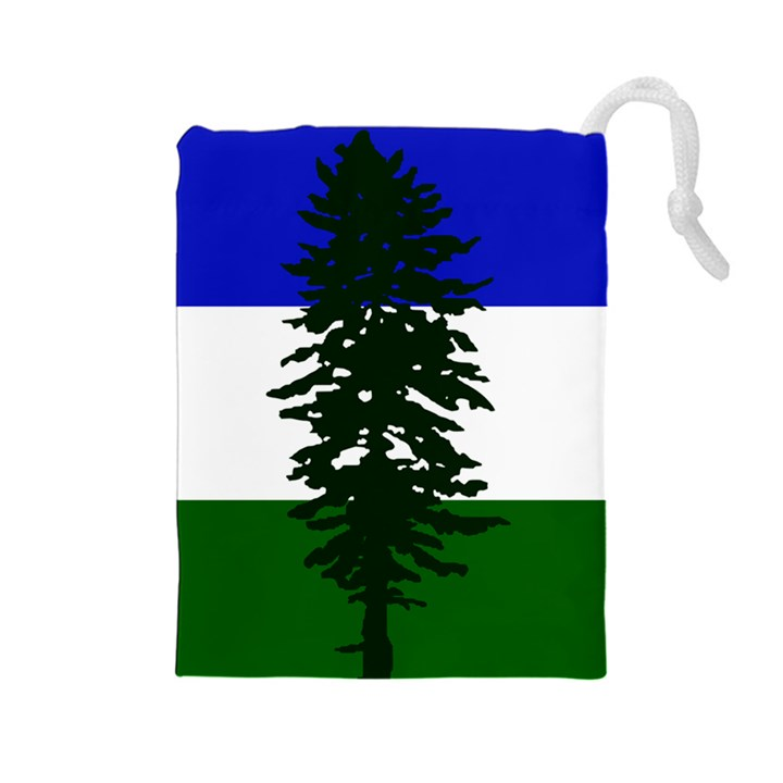 Flag of Cascadia Drawstring Pouches (Large)
