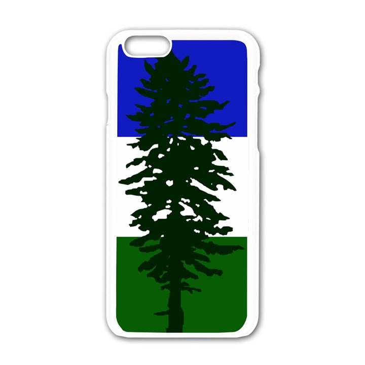 Flag of Cascadia Apple iPhone 6/6S White Enamel Case