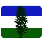 Flag of Cascadia Double Sided Flano Blanket (Medium)  60 x50 Blanket Front