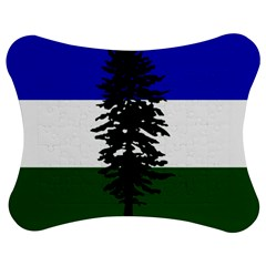 Flag Of Cascadia Jigsaw Puzzle Photo Stand (bow)