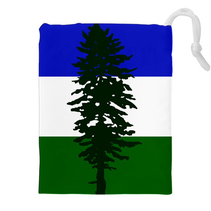 Flag of Cascadia Drawstring Pouches (XXL)