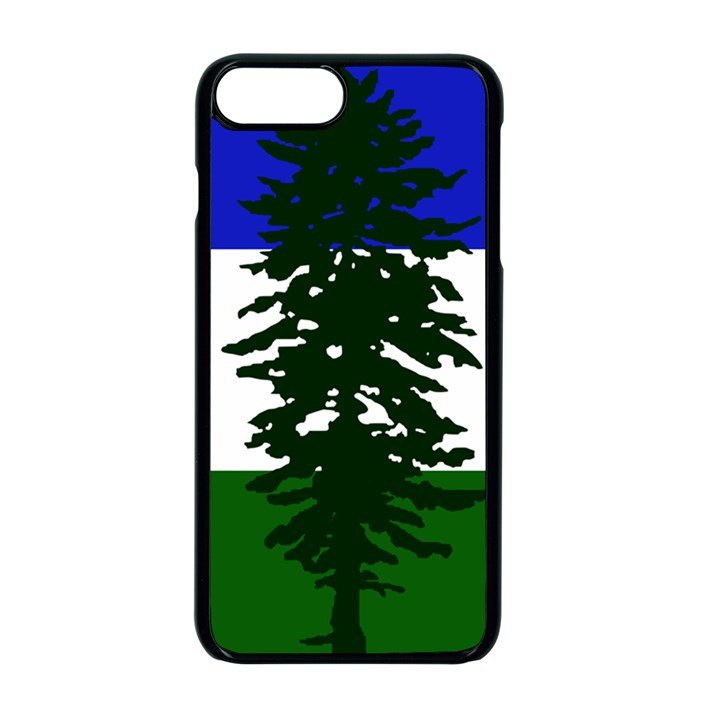 Flag of Cascadia Apple iPhone 7 Plus Seamless Case (Black)