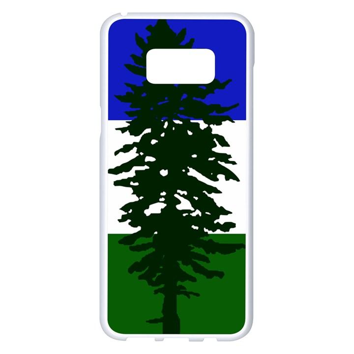 Flag of Cascadia Samsung Galaxy S8 Plus White Seamless Case