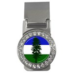 Flag of Cascadia Money Clips (CZ)  Front