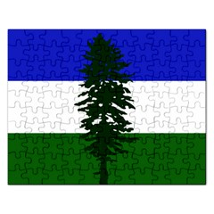 Flag Of Cascadia Rectangular Jigsaw Puzzl