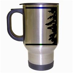 Flag Of Cascadia Travel Mug (silver Gray)