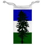 Flag of Cascadia Jewelry Bag Back