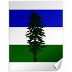 Flag of Cascadia Canvas 12  x 16   16 x12 Canvas - 1