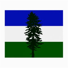 Flag Of Cascadia Small Glasses Cloth (2 Side)