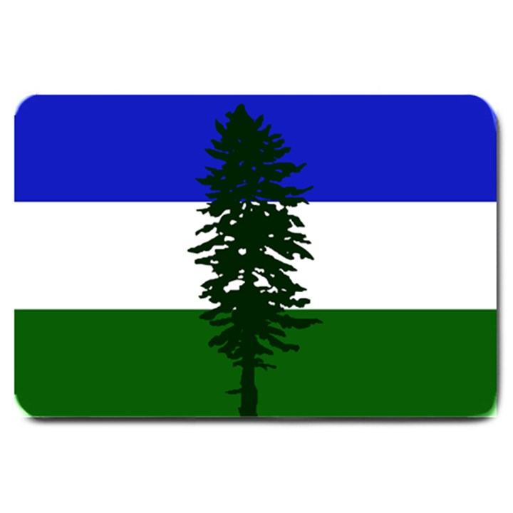 Flag of Cascadia Large Doormat