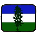 Flag of Cascadia Netbook Case (Large) Front