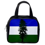 Flag of Cascadia Classic Handbags (2 Sides) Back