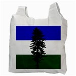 Flag of Cascadia Recycle Bag (Two Side)  Back
