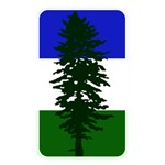 Flag of Cascadia Memory Card Reader Front