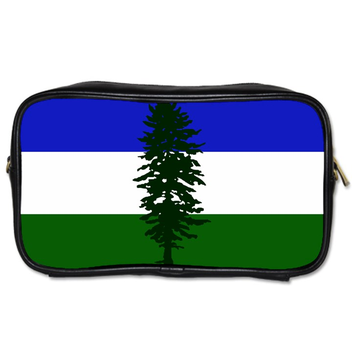 Flag of Cascadia Toiletries Bags 2-Side