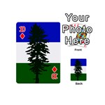 Flag of Cascadia Playing Cards 54 (Mini)  Front - Diamond10