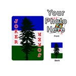 Flag of Cascadia Playing Cards 54 (Mini)  Front - Joker2