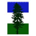 Flag of Cascadia Shower Curtain 48  x 72  (Small)  42.18 x64.8 Curtain