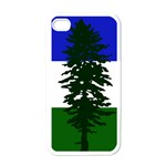 Flag of Cascadia Apple iPhone 4 Case (White) Front
