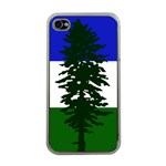 Flag of Cascadia Apple iPhone 4 Case (Clear) Front