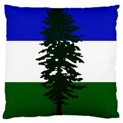Flag Of Cascadia Large Cushion Case (two Sides)