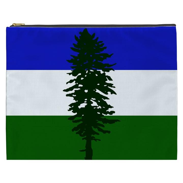 Flag of Cascadia Cosmetic Bag (XXXL)