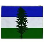Flag of Cascadia Cosmetic Bag (XXXL)  Back