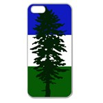 Flag of Cascadia Apple Seamless iPhone 5 Case (Clear) Front