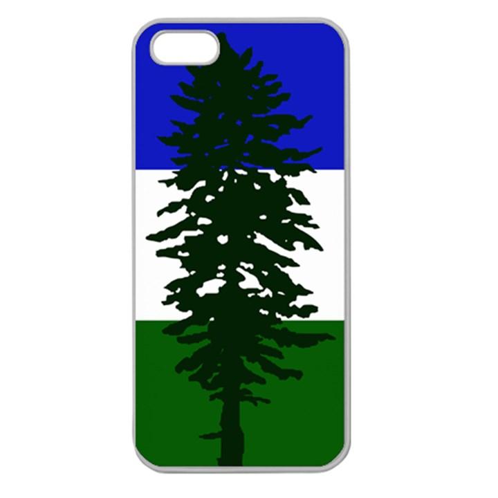 Flag of Cascadia Apple Seamless iPhone 5 Case (Clear)