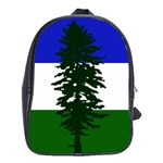 Flag of Cascadia School Bag (XL) Front