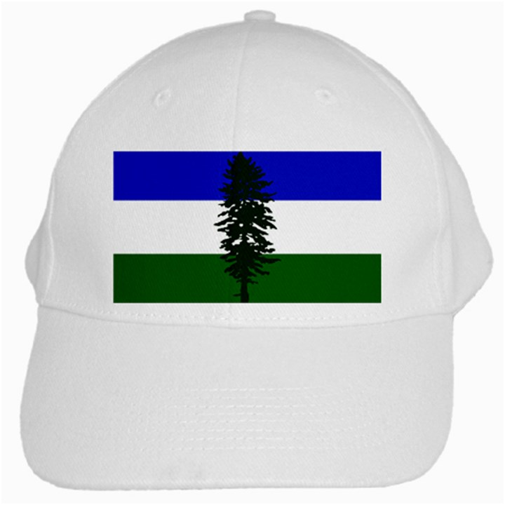 Flag of Cascadia White Cap