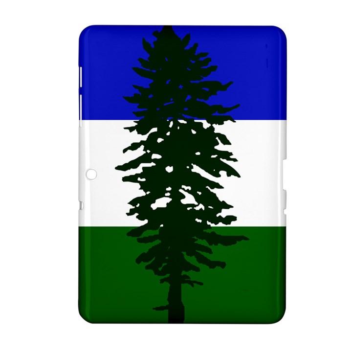 Flag of Cascadia Samsung Galaxy Tab 2 (10.1 ) P5100 Hardshell Case