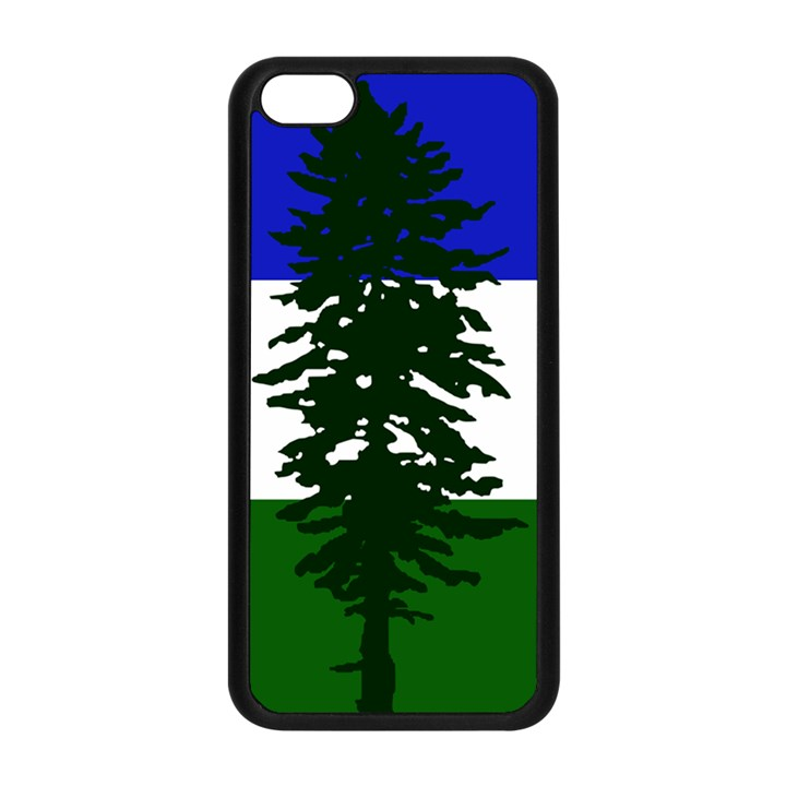 Flag of Cascadia Apple iPhone 5C Seamless Case (Black)