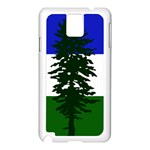 Flag of Cascadia Samsung Galaxy Note 3 N9005 Case (White) Front