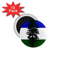 Flag Of Cascadia 1 75  Magnets (10 Pack)
