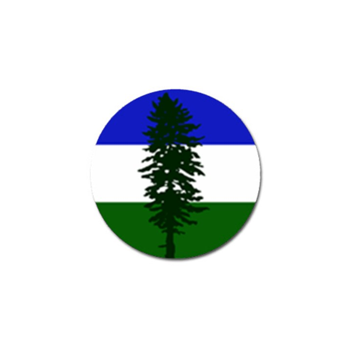 Flag of Cascadia Golf Ball Marker