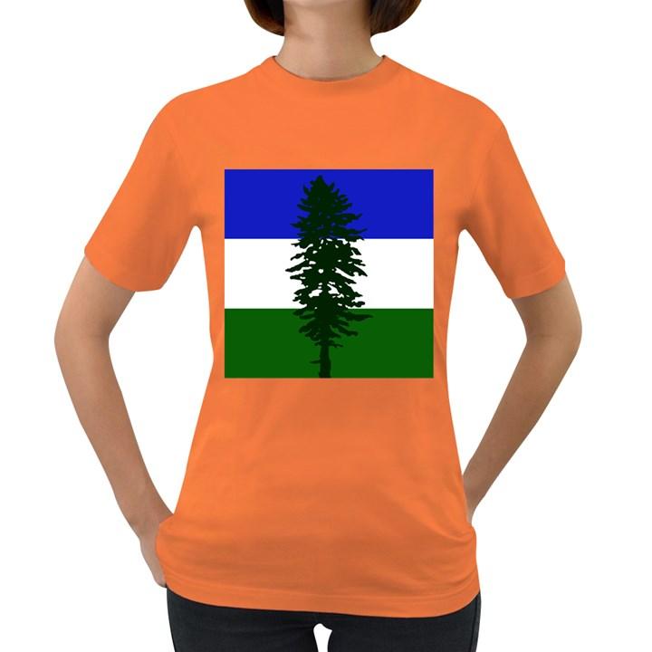 Flag of Cascadia Women s Dark T-Shirt