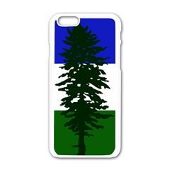 Flag Of Cascadia Apple Iphone 6/6s White Enamel Case