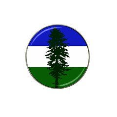 Flag Of Cascadia Hat Clip Ball Marker (4 Pack)