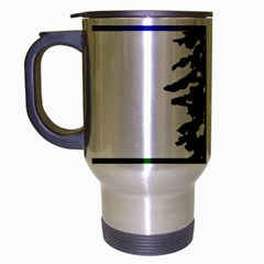 Flag Of Cascadia Travel Mug (silver Gray)