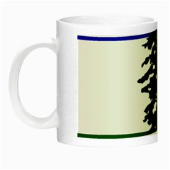 Flag Of Cascadia Night Luminous Mugs