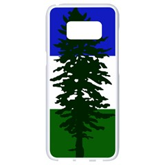 Flag Of Cascadia Samsung Galaxy S8 White Seamless Case