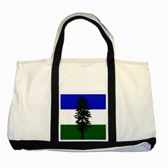 Flag Of Cascadia Two Tone Tote Bag
