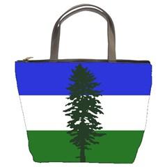 Flag Of Cascadia Bucket Bags