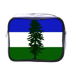 Flag Of Cascadia Mini Toiletries Bags