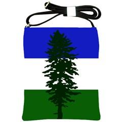 Flag Of Cascadia Shoulder Sling Bags